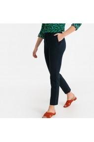 Pantaloni drepti La Redoute Collections GFS136 bleumarin