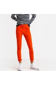 Pantaloni drepti La Redoute Collections GFS139 portocaliu