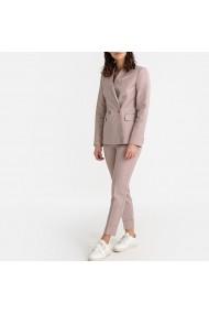 Pantaloni drepti La Redoute Collections GFU304 bej