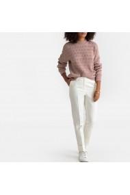 Pantaloni drepti La Redoute Collections GFU304 ivoire