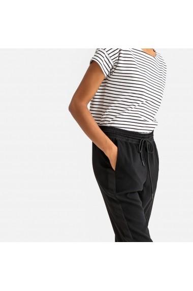 Pantaloni trei sferturi La Redoute Collections GFW582 negru