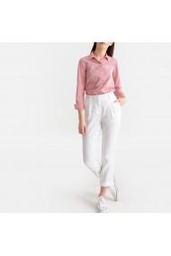 Pantaloni drepti La Redoute Collections GFX505 alb