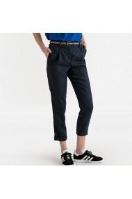 Pantaloni dreptiLa Redoute Collections GFX505 bleumarin