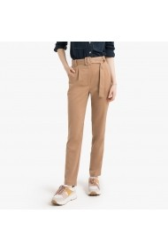 Pantaloni drepti La Redoute Collections GGM113 camel