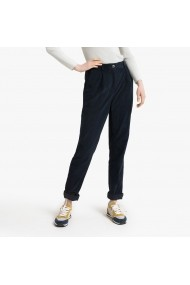 Pantaloni drepti La Redoute Collections GGP609 bleumarin