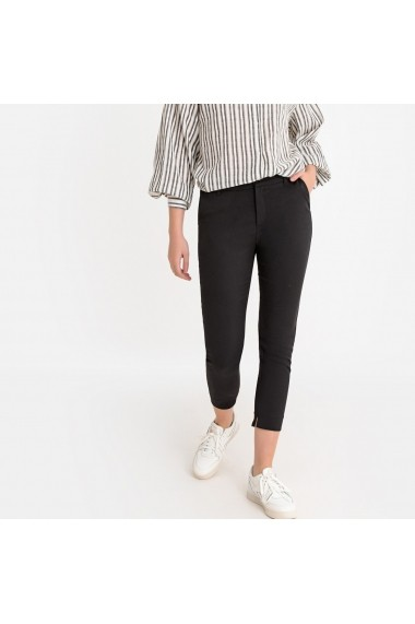 Pantaloni trei sferturi La Redoute Collections GFR821 negru