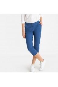 Pantaloni trei sferturi La Redoute Collections GFS128 albastru