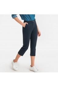 Pantaloni trei sferturi La Redoute Collections GFS128 bleumarin