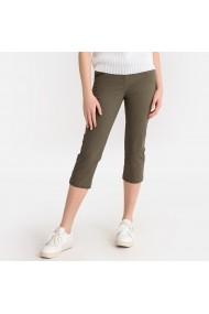 Pantaloni trei sferturi La Redoute Collections GFS128 kaki