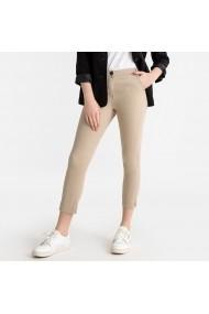 Pantaloni trei sferturi La Redoute Collections GFS131 bej