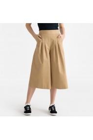 Pantaloni trei sferturi La Redoute Collections GFV720 bej