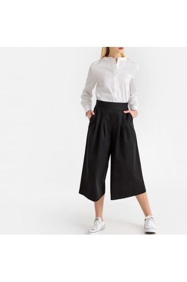 Pantaloni trei sferturi La Redoute Collections GFV720 negru