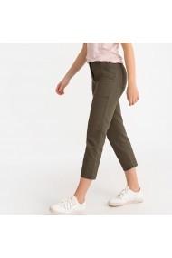 Pantaloni trei sferturi La Redoute Collections GFX510 kaki
