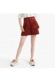 Pantaloni scurti La Redoute Collections GGR276 caramiziu