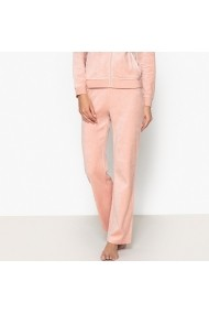 Pantaloni de pijama La Redoute Collections GBF022 roz