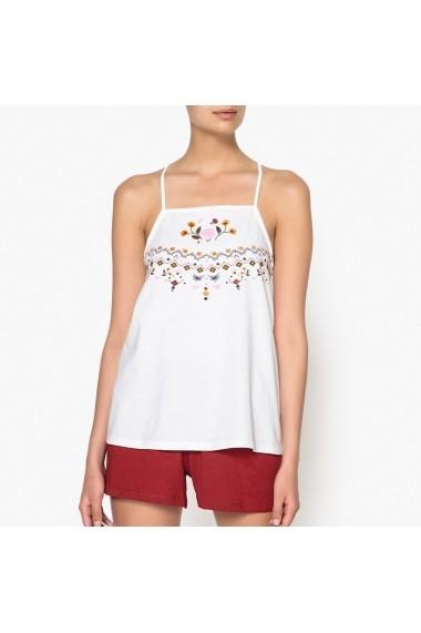 Pijama La Redoute Collections GET430 alb