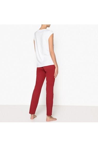 Pijama La Redoute Collections GET434 alb