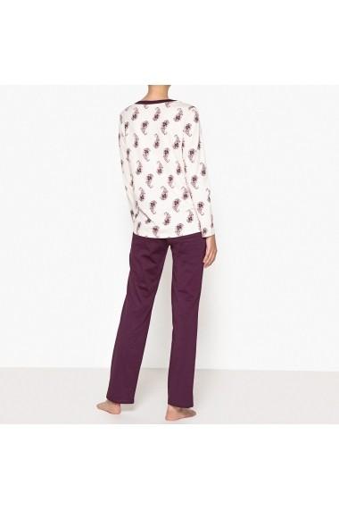 Pijama La Redoute Collections GEV319 bej - els