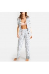Pijama La Redoute Collections GFM477 alb