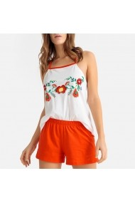 Pijama La Redoute Collections GFN499 portocaliu
