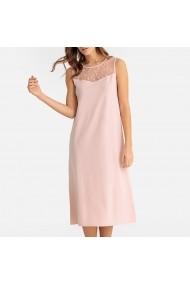 Camasa de noapte La Redoute Collections GFO066 roz