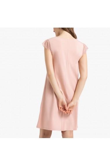 Camasa de noapte La Redoute Collections GEU016 roz