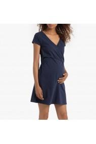 Camasa de noapte pentru gravide La Redoute Collections GGK830 bleumarin