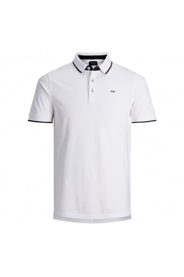 Tricou Polo polo Jack & Jones GFL725 alb