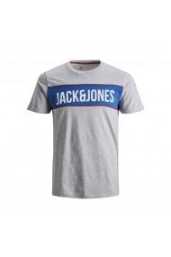 Tricou JACK & JONES GGJ741 gri