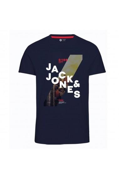 Tricou JACK & JONES GGP885 bleumarin