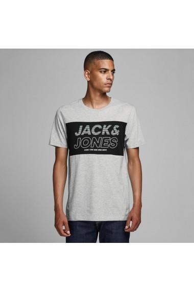Tricou JACK & JONES GGW956 gri