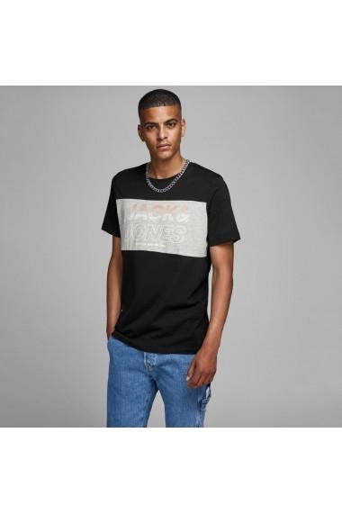 Tricou JACK & JONES GGW956 negru