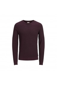 Pulover JACK & JONES GFP217 bordo