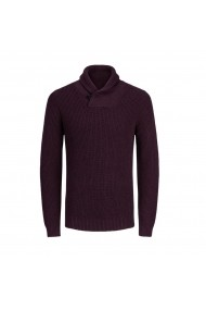 Pulover JACK & JONES GFP258 bordo