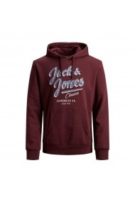 Hanorac JACK & JONES GGW758 bordo