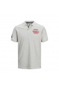 Tricou Polo JACK & JONES GGC772 alb
