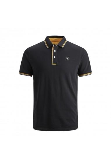 Tricou Polo JACK & JONES GGK109 negru