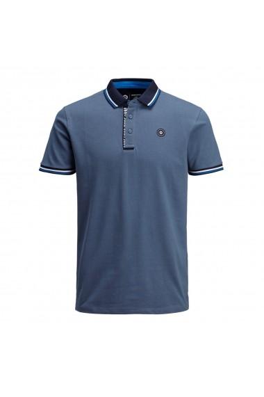Tricou Polo JACK & JONES GGK109 albastru