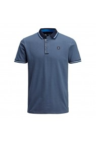 Tricou Polo JACK & JONES GGK109 albastru