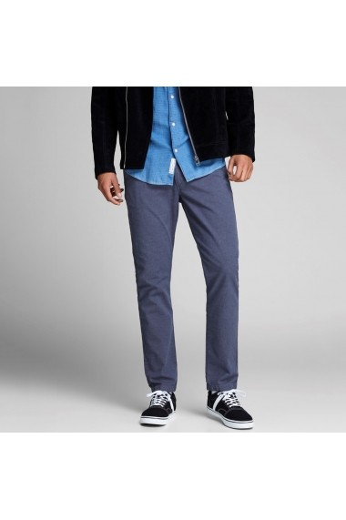 Pantaloni JACK & JONES GGF272 albastru
