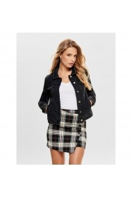 Jacheta din denim ONLY GGT047 negru