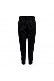 Pantaloni drepti ONLY GGS827 negru