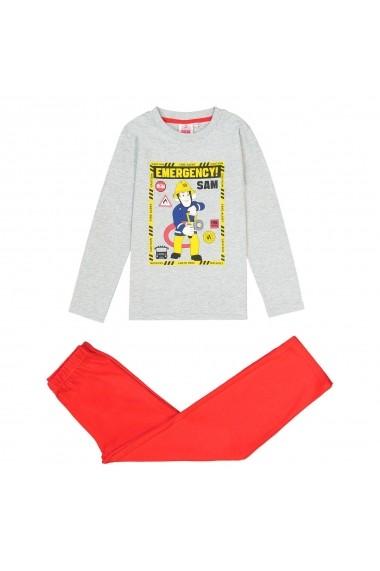 Pijama SAM LE POMPIER GFB436 gri