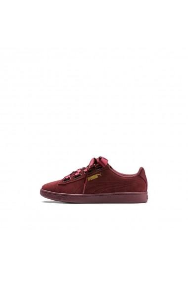 Pantofi sport casual Vikky V2 Ribbon S PUMA GGR288 bordo