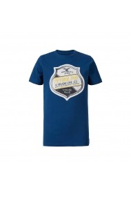 Tricou PETROL INDUSTRIES GGI391 albastru
