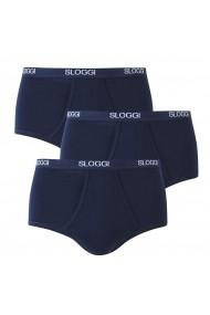 Set de 3 perechi de boxeri SLOGGI GCN729 bleumarin