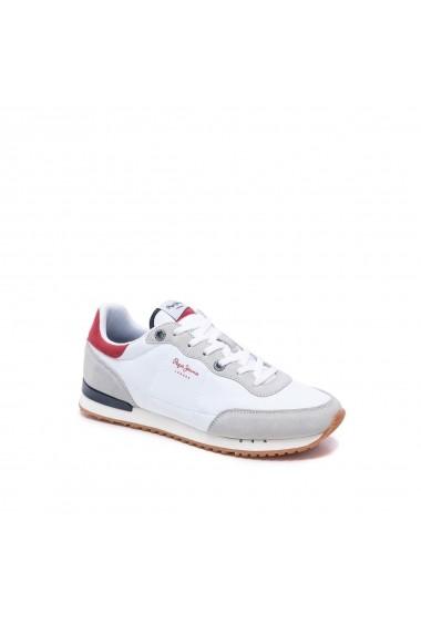 Pantofi sport PEPE JEANS GGM470 alb