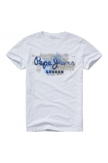 Tricou PEPE JEANS GET062 alb