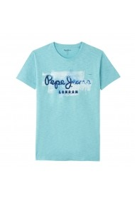 Tricou PEPE JEANS GET062 albastru