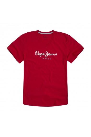 Tricou PEPE JEANS GGC981 rosu